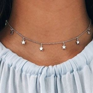 NEW Dripping Stars Necklace/Choker